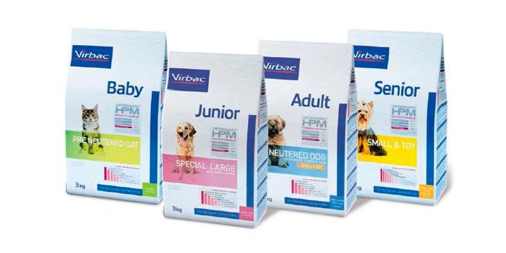 Virbac: Nueva y exclusiva gama de alimentos de alta calidad para perros y gatos